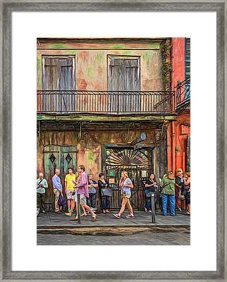 For The Love Of Jazz Framed Print by Steve Harrington