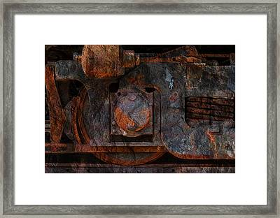For The Love Of Rust 2 Framed Print by Jack Zulli