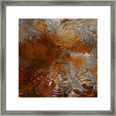 For The Love Of Rust Framed Print by Jack Zulli