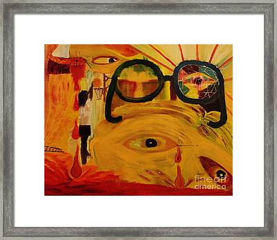 For The Love Of The Game Framed Print by Wayne Cantrell