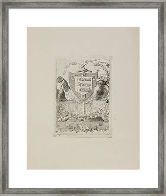 For The Trial Of Warren Hastings Framed Print