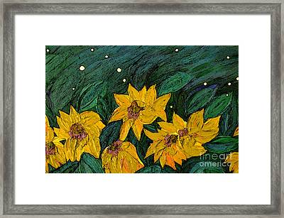 For Vincent By Jrr Framed Print