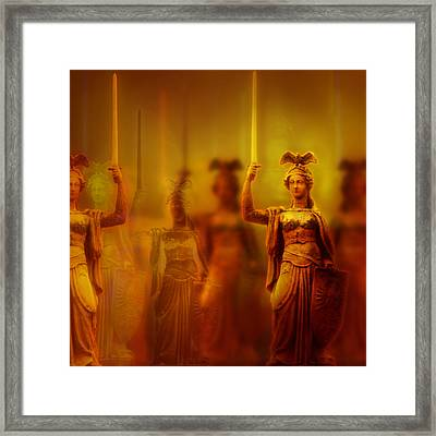 For We Are Legion Framed Print by Li   van Saathoff