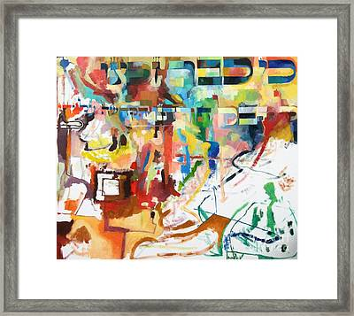 for we have already merited to receive our Holy Torah 2 Framed Print by David Baruch Wolk