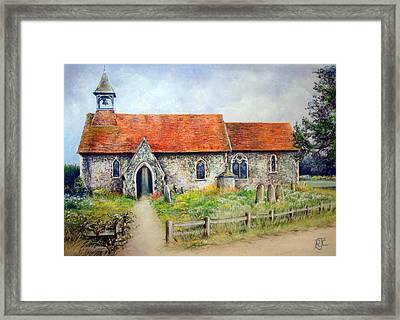 For Whom The Bell Tolls Framed Print