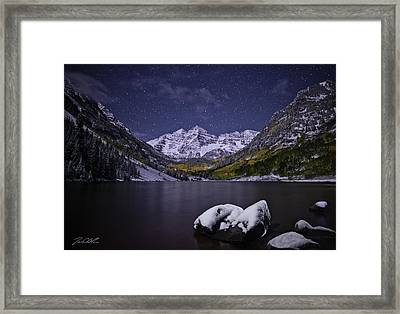 For Whom The Bells Toll Framed Print by Jon Blake