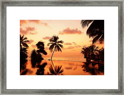 For You. Dream Comes True II. Maldives Framed Print by Jenny Rainbow