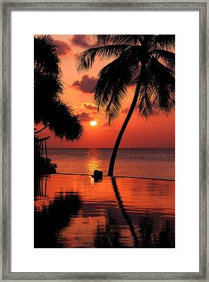 For You. Dream Coming True I. Maldives Framed Print by Jenny Rainbow