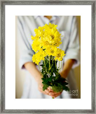 For You Framed Print