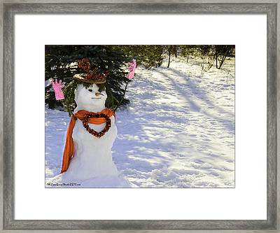 For Your Winter Love Framed Print