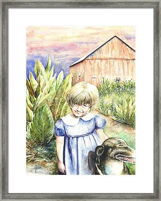 Forbes Road Farm Framed Print