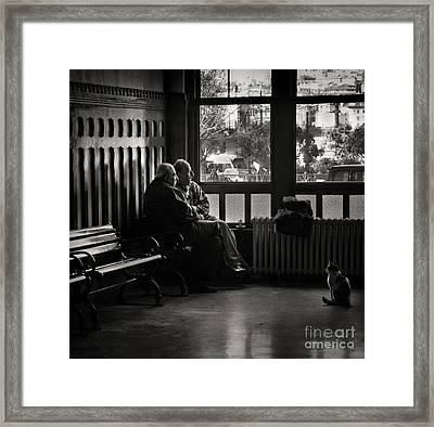 Framed Print featuring the photograph Forbidden Fruit by Michel Verhoef
