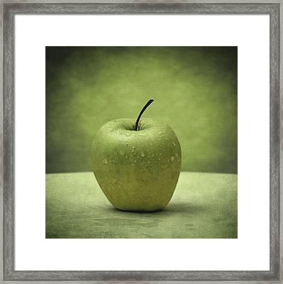 Forbidden Fruit Framed Print by Taylan Apukovska