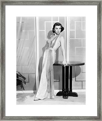 Forbidden, Joanne Dru, 1953 Framed Print by Everett