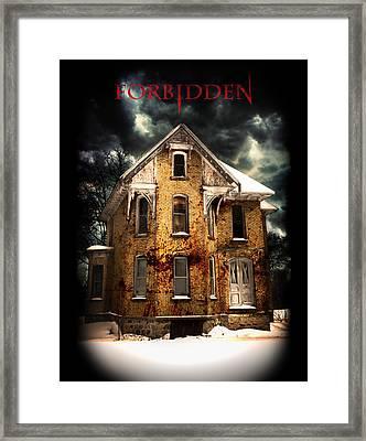 Forbidden Framed Print by Lee Wolf Winter