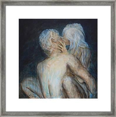 Forbidden Love - Erotica Framed Print
