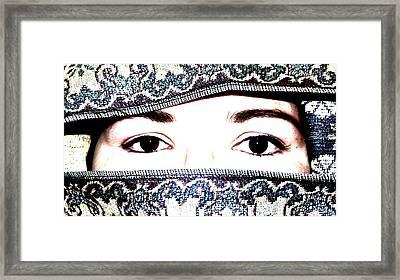 Forbidden Framed Print