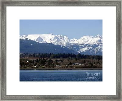 Forbidden Plateau Framed Print by Sharon Talson