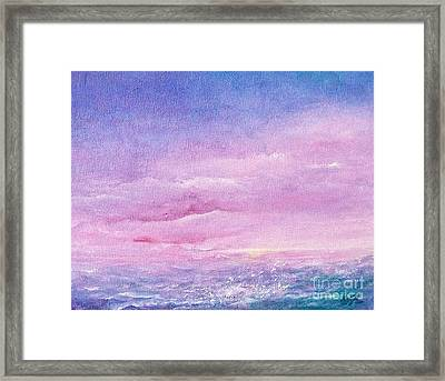 Force Of Nature 4 Framed Print by Jane  See