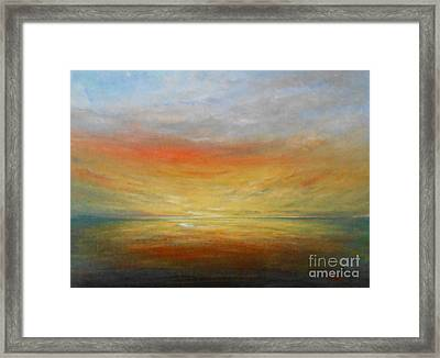 Force Of Nature 6 Framed Print by Jane  See