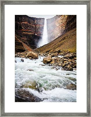 Force Of Nature Framed Print by Peta Thames