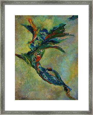 Forces Of Nature Framed Print by John Terrell