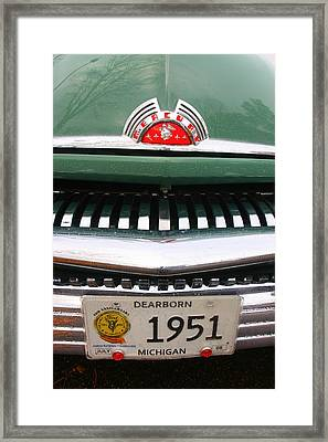 Ford 16 Framed Print by Amanda Stadther