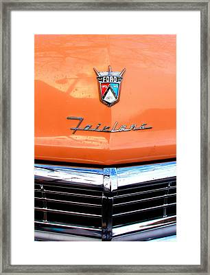 Ford 2 Framed Print by Amanda Stadther
