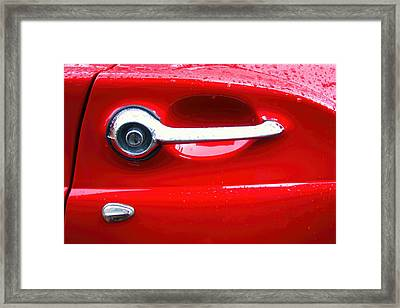 Ford 8 Framed Print by Amanda Stadther