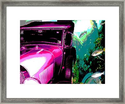 Ford A - Plantation 2 Framed Print by Marcello Cicchini