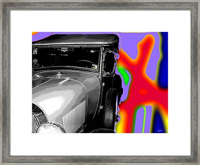 Ford A - Plantation Framed Print by Marcello Cicchini