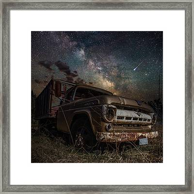 Ford Framed Print by Aaron J Groen
