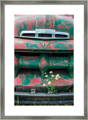 Ford Framed Print by Aaron Spong