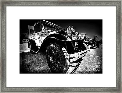 Ford Antique Cars Framed Print by Danny Hooks