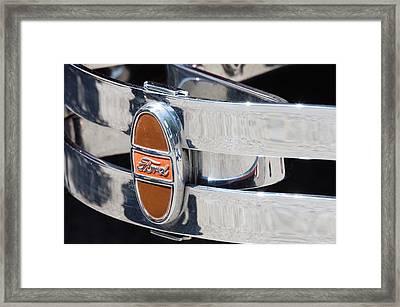 Ford Bumper  Framed Print by Cyrel Moore