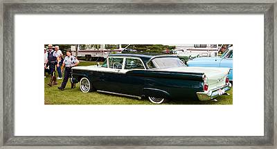 Ford Classic Automobile Framed Print by Mick Flynn