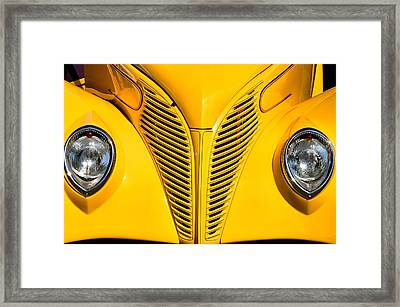 Ford Coupe Framed Print by Bob Wall