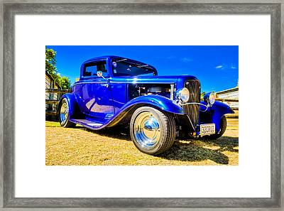 Ford Coupe Hot Rod Framed Print by motography aka Phil Clark