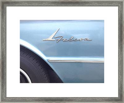 Ford Falcon 1961  Framed Print by Don Spenner