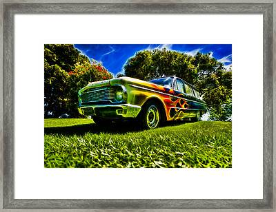 Ford Falcon Station Wagon Framed Print by motography aka Phil Clark