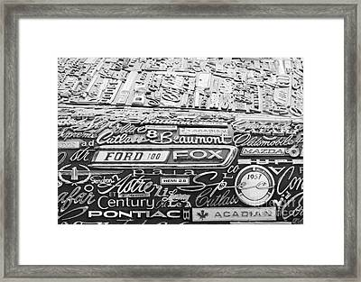 Ford Fox Framed Print