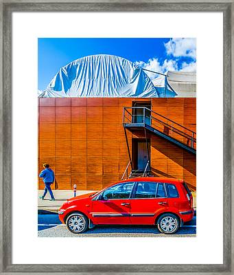 Ford Fusion Framed Print