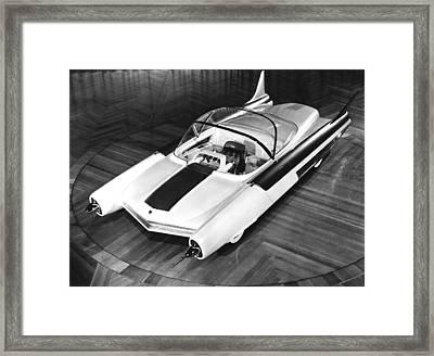 Ford Fx-atmos Concept Car Framed Print