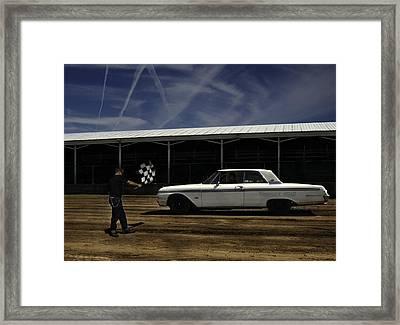 Ford Galaxie 500 6 Framed Print