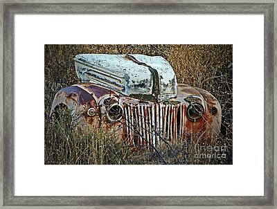 Ford Gets A Facelift Framed Print by Lee Craig