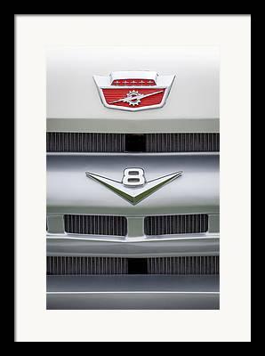Ford Custom V8 Framed Prints