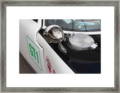 Ford Gt 40 Wing Mirror  Framed Print by Robert Phelan
