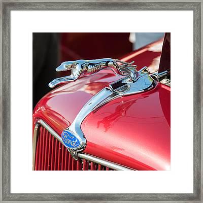 Ford Hood Framed Print by Guy Whiteley