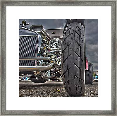 Ford In Hdr Framed Print