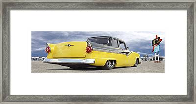 Ford Lowrider At Roys Framed Print by Mike McGlothlen